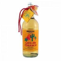 Mezcal Oro de Oaxaca.