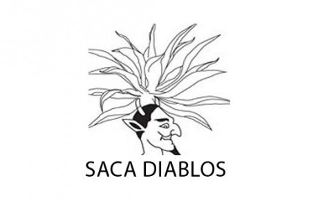 Saca Diablos Mezcal logo